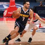 Denver Nuggets cayó ante Washington Wizards en la NBA