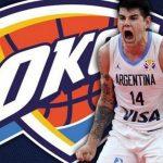 «Cuando era chico soñaba con la NBA», contó Deck